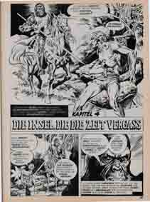Williams Recht Planet der Affen Splash Page