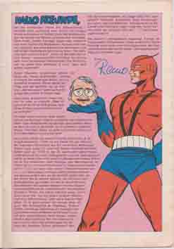 Redaktion Leserbriefe Marvel Williams Rächer