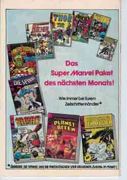 Williams Recht Marvel die Spinne Redaktion