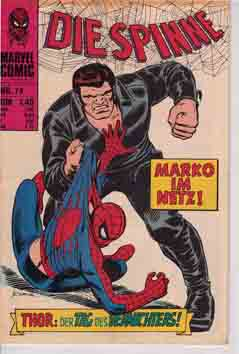 Williams Recht Marvel die Spinne Cover