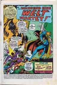 Williams Recht Doktor Strange Splash Page