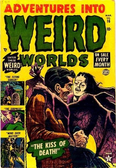 Adventures into Weird Worlds Cover