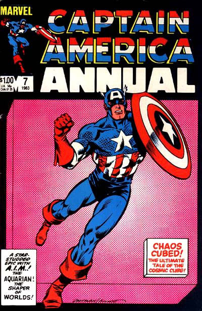 Captain America Annual Cover