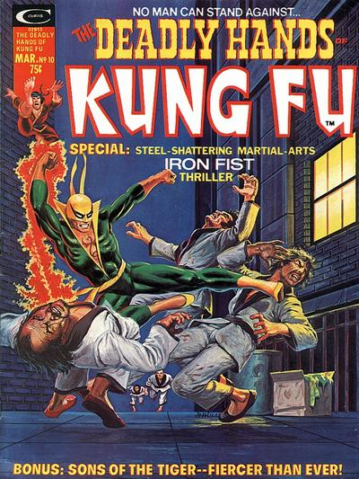 Deadly Hands of Kung Fu Cover