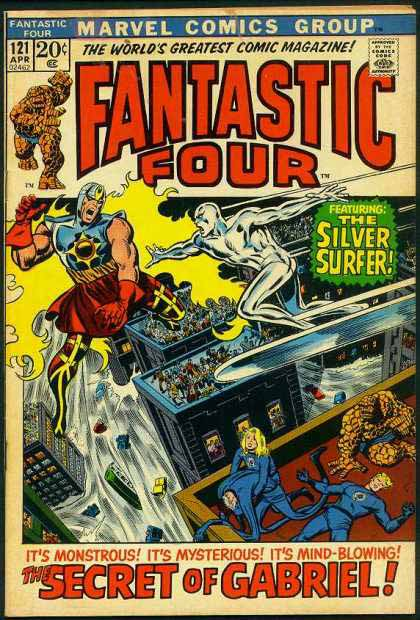 Fantastic Four Cover