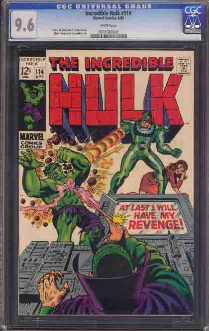 Incedible Hulk Cover