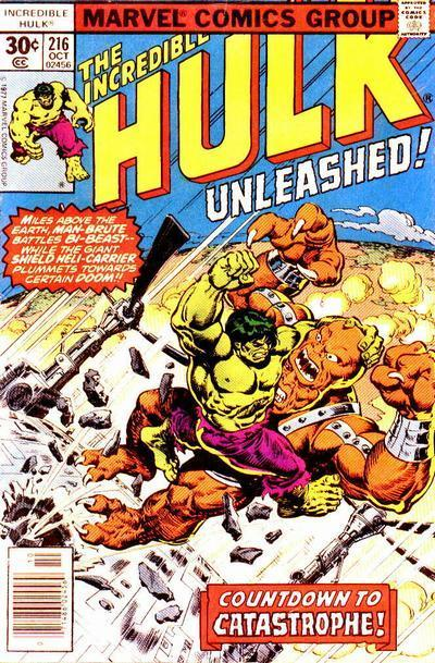 Incredible Hulk Cover