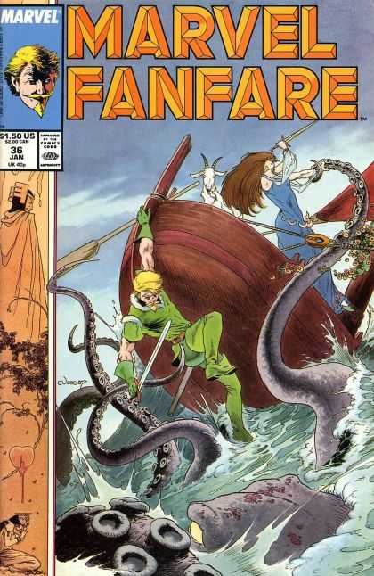 Marvel-Fanfare-1982 Cover