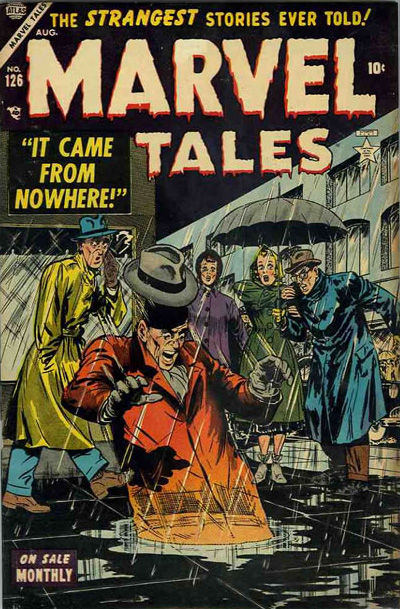 Marvel Tales Cover