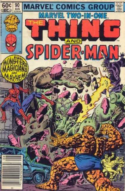 Marvel Two-in-one Cover