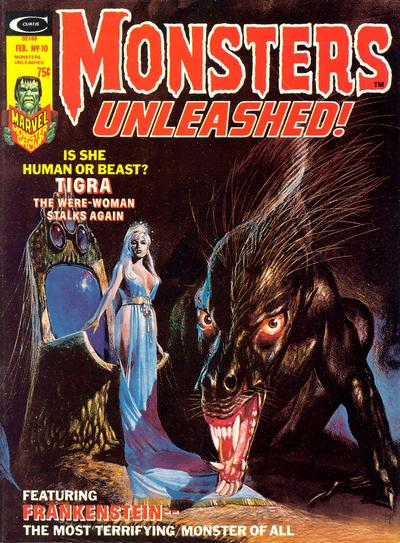 Monster Unleashed 10 Cover
