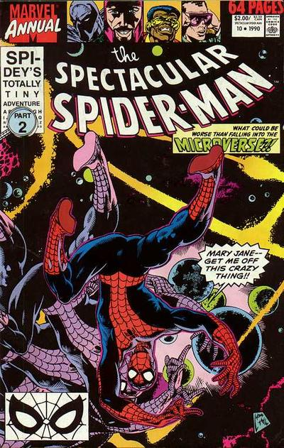 Peter Parker Spectacular Spider-Man Cover