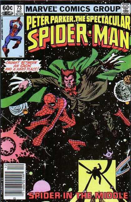 Peter Parker Spectacular Spider Man Cover