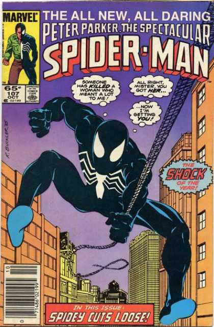 Peter Parker the Spectacular Spider-Man Cover