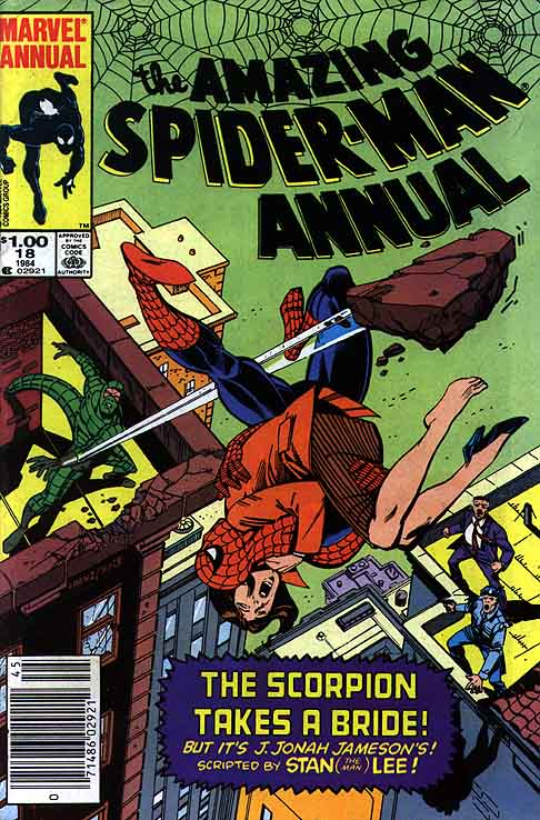 Amazing Spider-Man Annual Cover