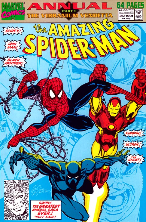 Spider-Man-Annual Cover