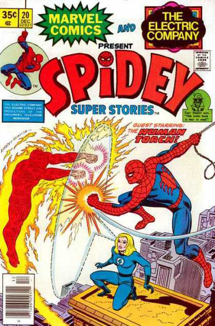 Spidey Super Stories Cover