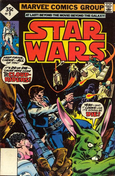 Star Wars Marvel Cover