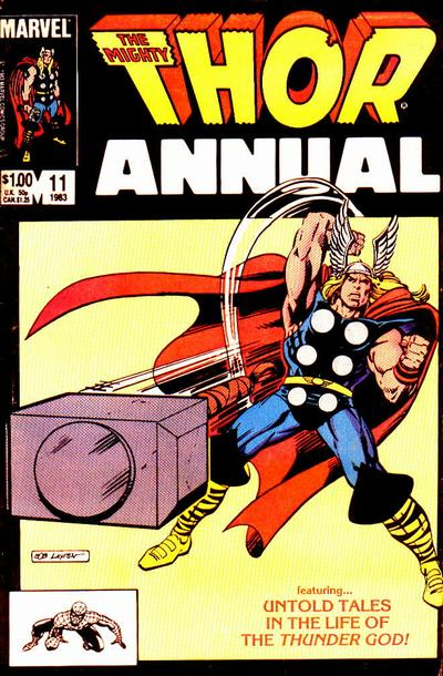 Thor-Annual Cover