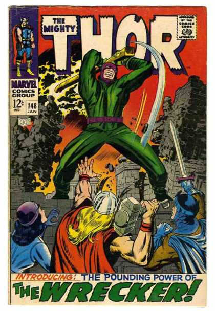 The Mighty Thor Cover