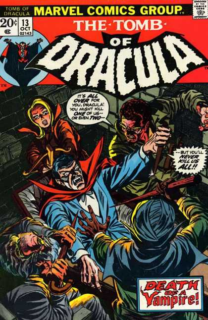 Tomb of Dracula Cover