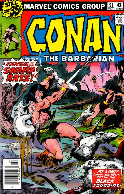 Conan der Barbar Cover
