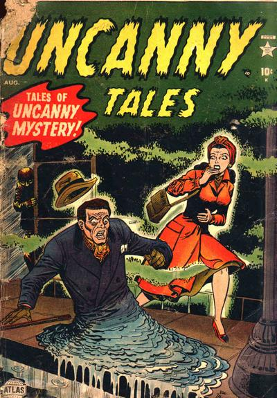 Uncanny Tales Cover
