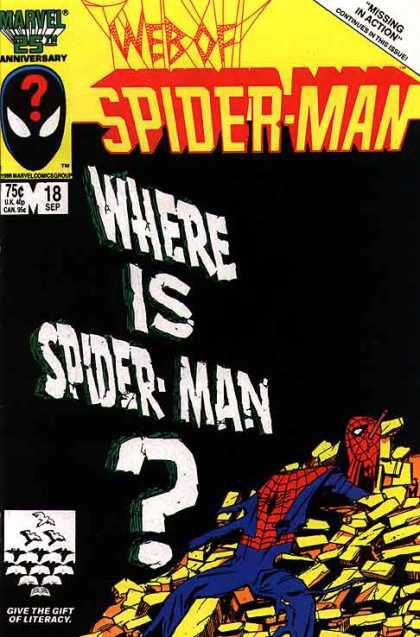 Web of Amazing Spider-Man Cover