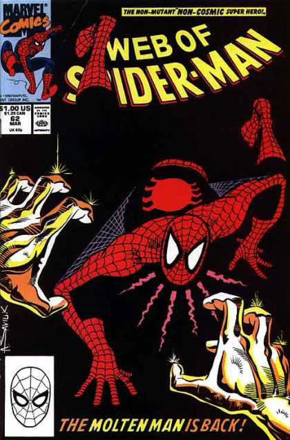 Web of Spider-Man Cover