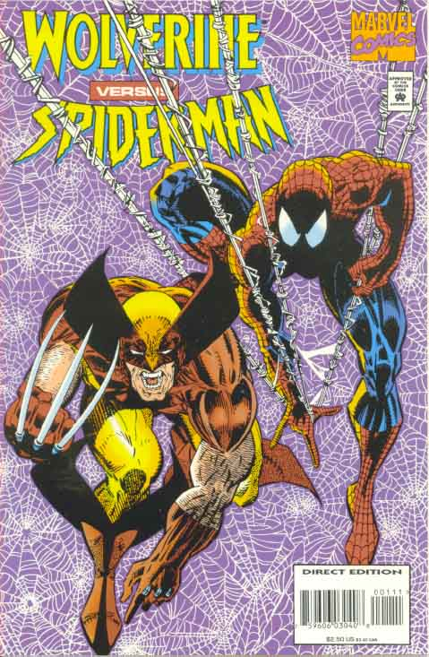 Wolverine-vs-Spider-Man Cover