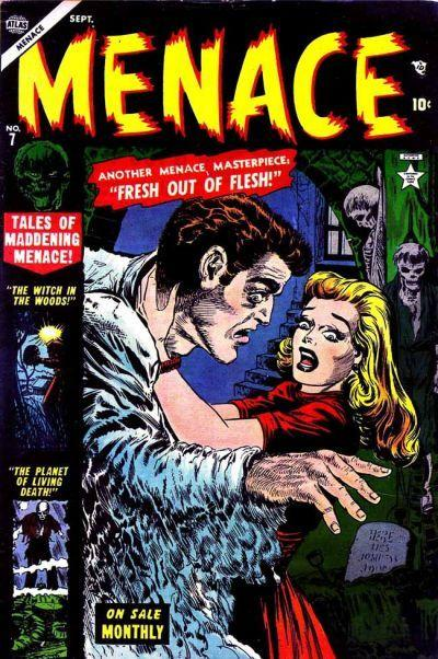 Menace 7 Cover