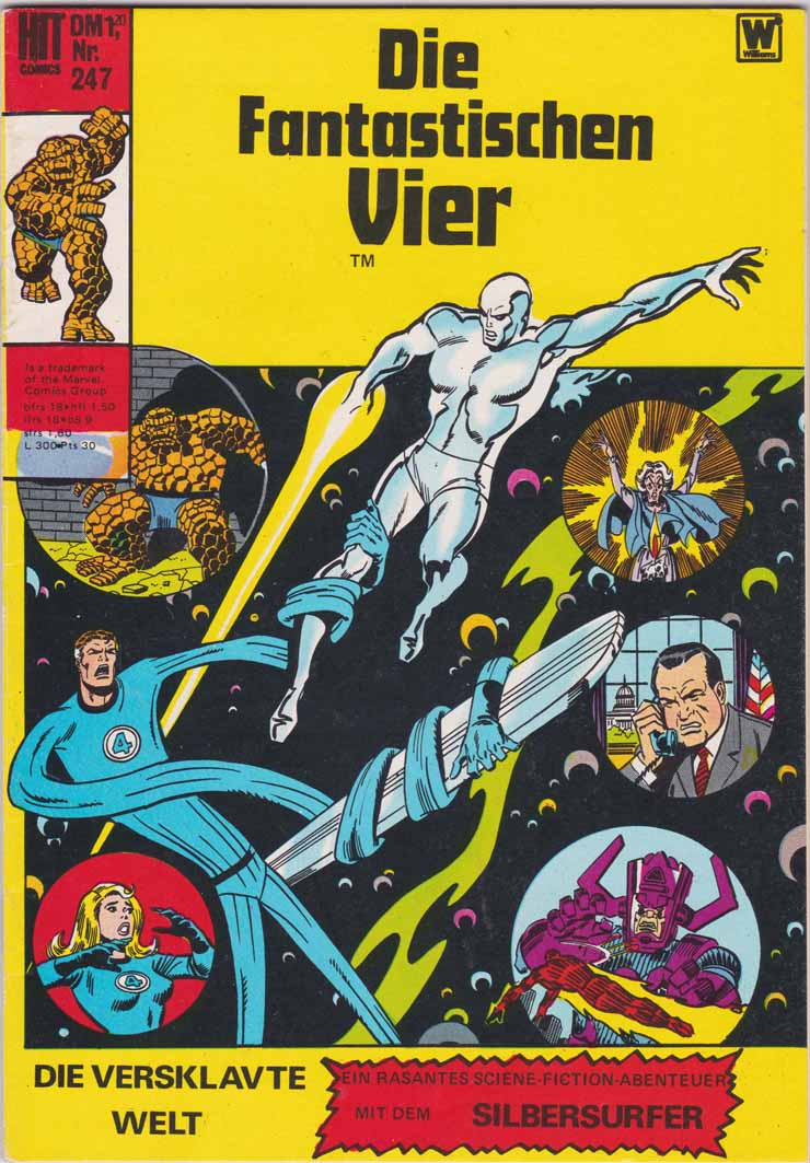 fantastischen Vier Marvel hit Cover