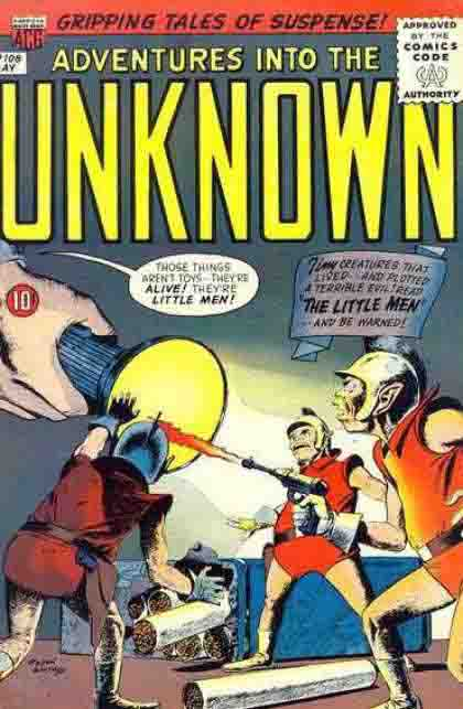 Adventures Into The Unknown US Cover 108