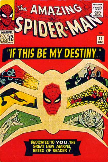 Amazing Spider-Man Cover 31