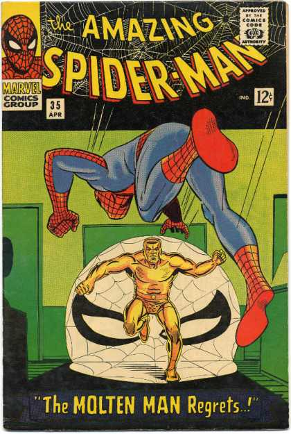 Amazing Spider-Man Cover 35