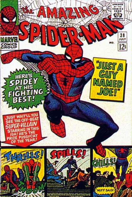 Amazing Spider-Man Cover 38