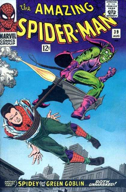 Amazing Spider-Man Cover 39