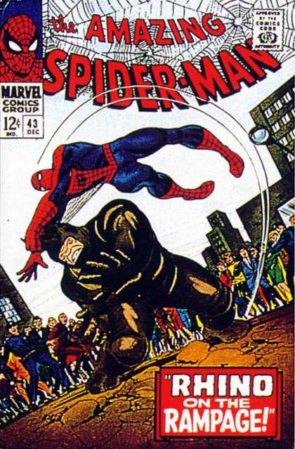 Amazing Spider-Man Cover 43