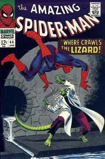 Amazing Spider-Man Cover 44