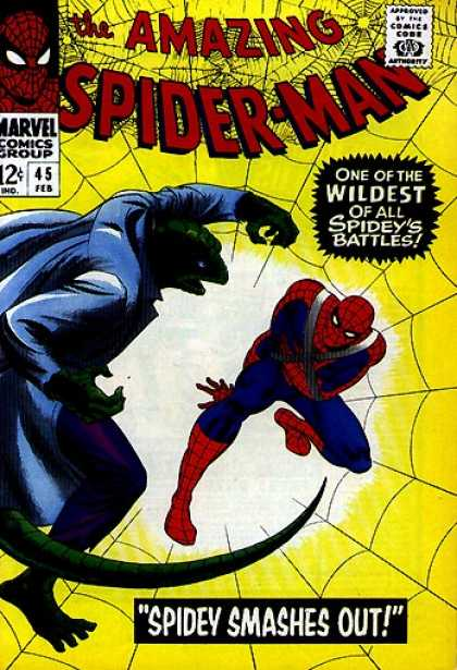 Amazing Spider-Man Cover 45