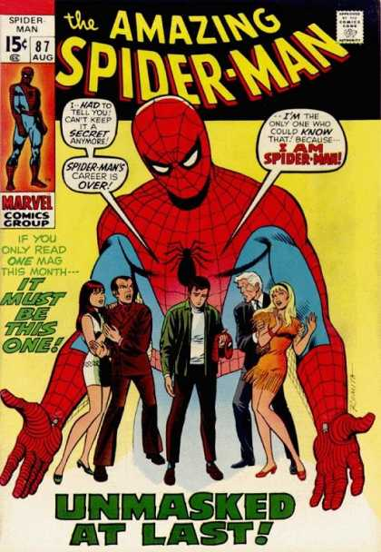 amazing Spider-Man Marvel Cover