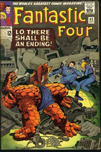 Fantastic Four Cover 43