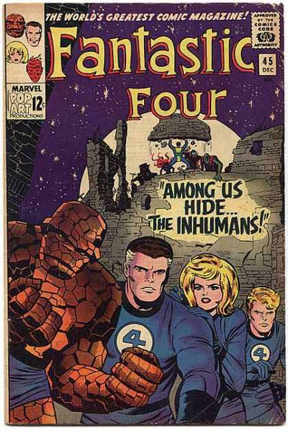 Fantastic Four Cover 45