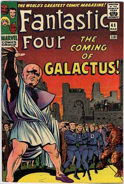 Fantastic Four Cover 48