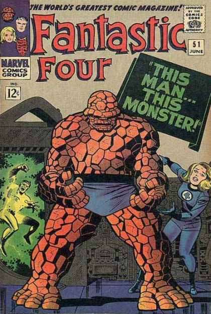 Fantastic Four Cover 51