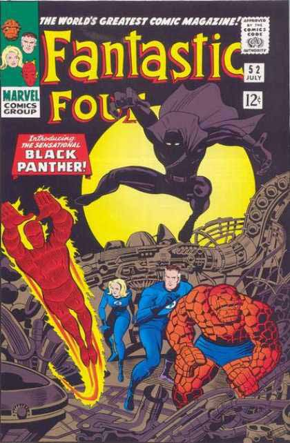 Fantastic Four Cover 52