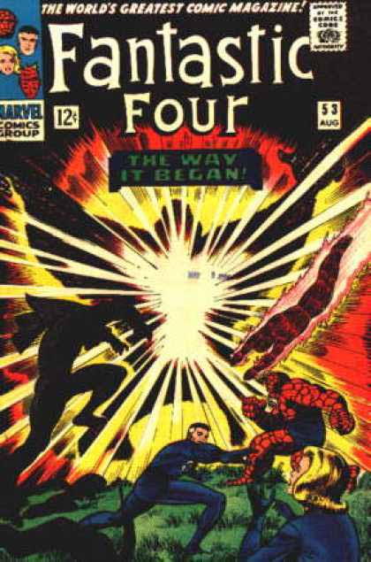 Fantastic Four Cover 53