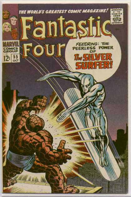 Fantastic Four Cover 55
