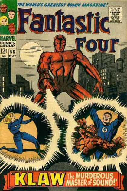 Fantastic Four Cover 56