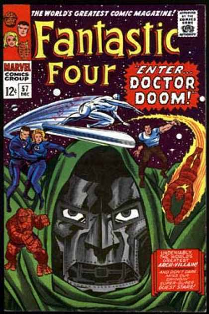 Fantastic Four Cover 57